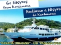 "Travel to Nisyros 14th and 15th August with ""PANAGIA SPILIANI"""