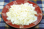 Farfalle with Garlic and Yoghurt