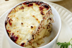 Chicken with Macaroni (Pastitsio tubular pasta)