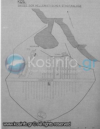 Kos Town Archaelogical Sites Monuments Kosinfogr Tourism Guide